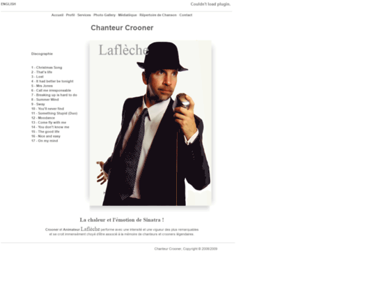 Mariage - Chanteur Crooner et Animateur | Wedding - Singer Crooner & Entertainer