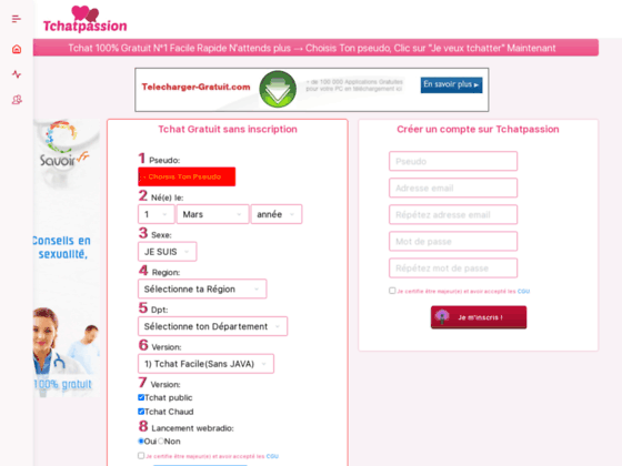chat-land site de chat et rencontre gratuit