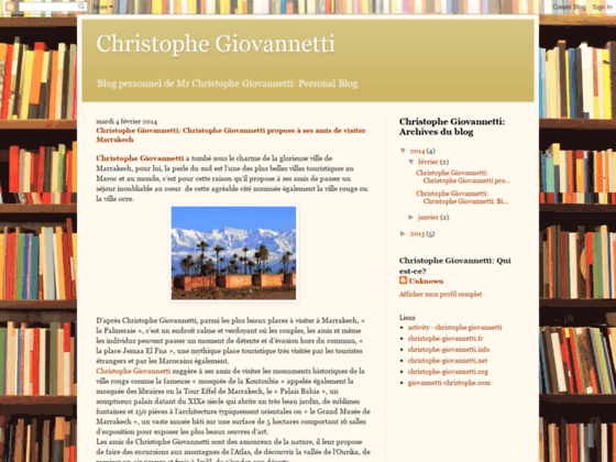 christophe giovannetti wikipedia