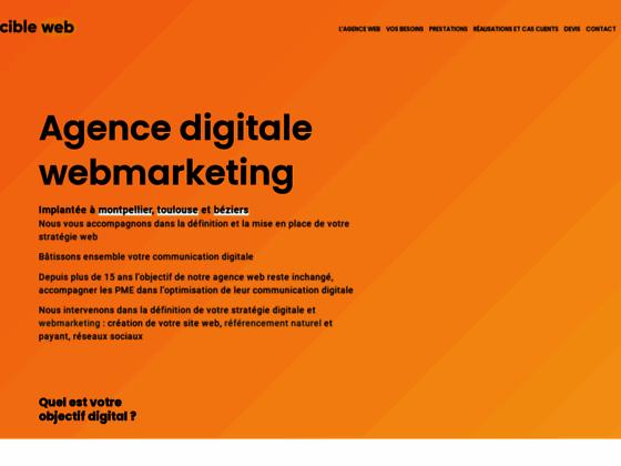 Cibleweb, agence webmarketing spécialisée dans le ecommerce