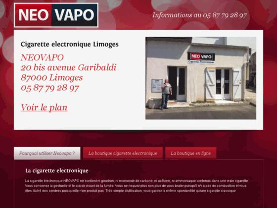 Neovapo, le meilleur de la e-cigarette !