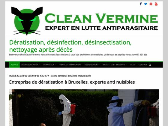 Dératisation et lutte anti insectes-Clean Vermine