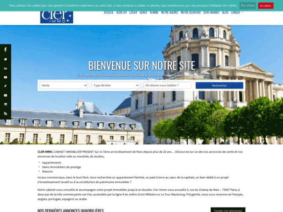 Agence immobilière ClerImmo
