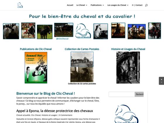 Accueil Clic-Cheval