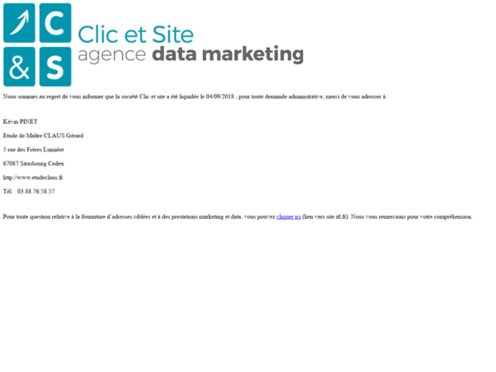 Création emailing