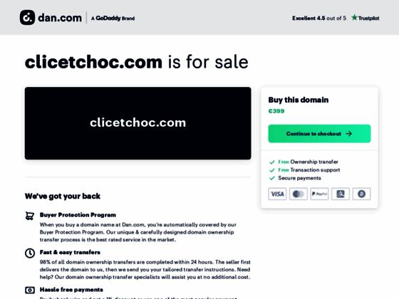 Clicetchoc : Chaussures sport et sacs à main