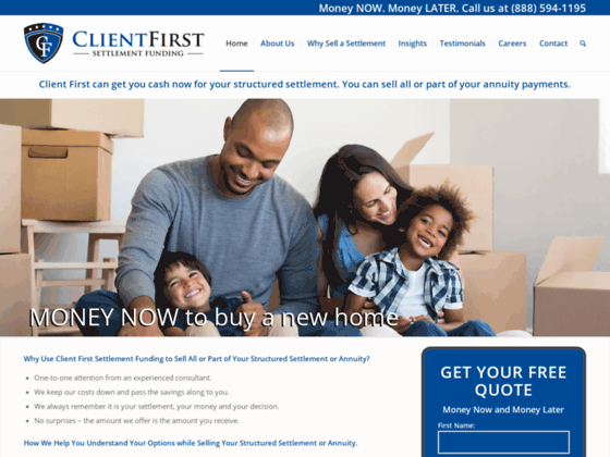 Structured Settlement & Annuity Payments | Client First Settlement Funding