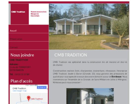 Maison Bois la Gironde : CMB TRADITION