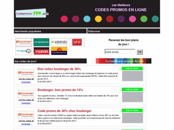 Code promo Boulanger