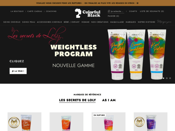 Colorful Black : Janet Collection et Flori Roberts