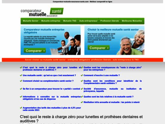 Comparateur-mutuelle-assurance-sante.com