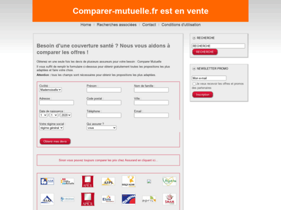 comparer-mutuelle.fr