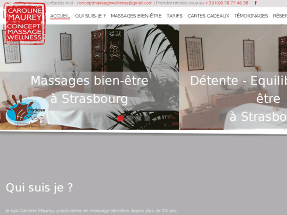 Salon de massage à Strasbourg