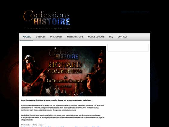 Confessions d'Histoire : l'Histoire racontée par ceux qui l'ont vécue
