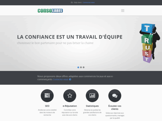 ConsoLabel.fr : mesure satisfaction client et label commerce