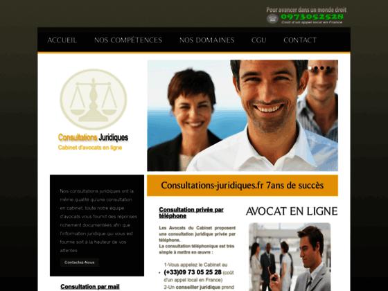 consultation juridique conseil avocat spécialisé