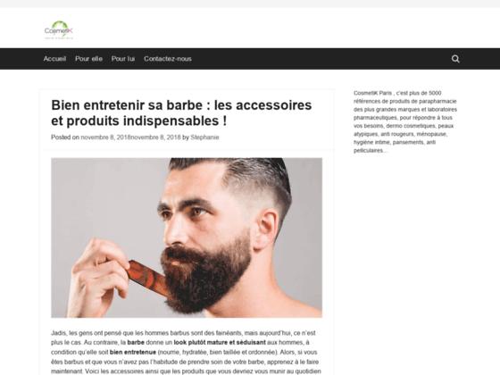 Parapharmacie en ligne de produits cosmétiques