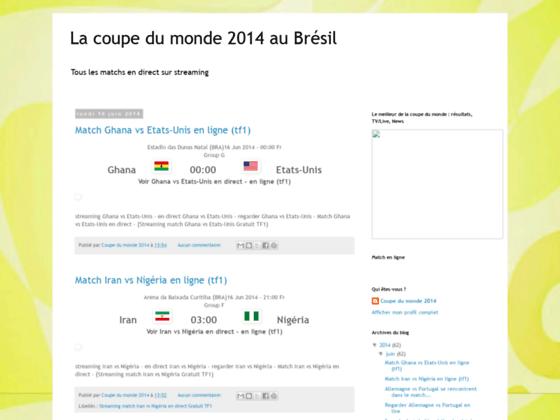 la coupe du monde 2014
