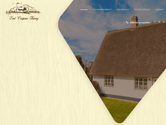 EURL COUPEAU THIERRY: votre spécialiste en couverture  toitures dans le 27