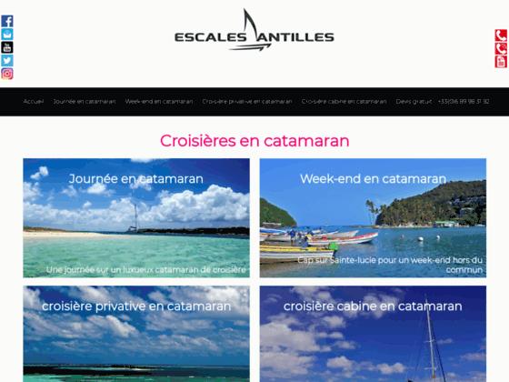 Croisière aux antilles en catamaran