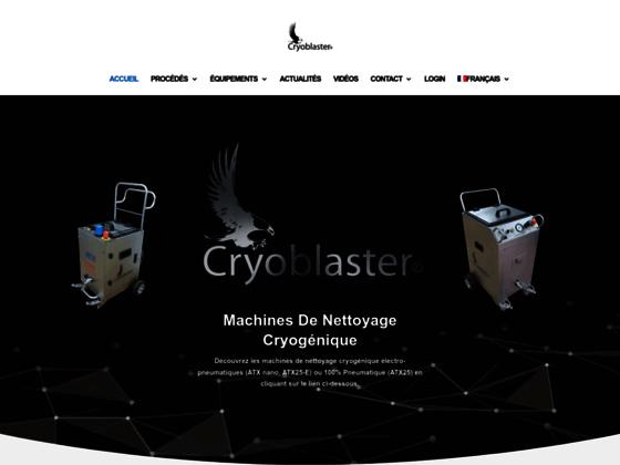 Cryoblaster: nettoyage cryogénique