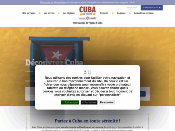 Voyage Cuba : Cuba en Liberté