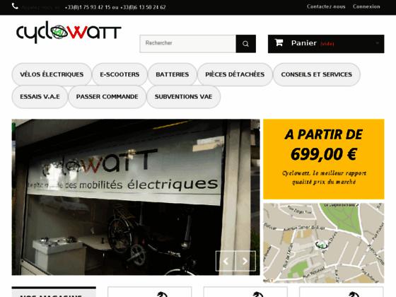 Cyclowatt maison du vélo électrique