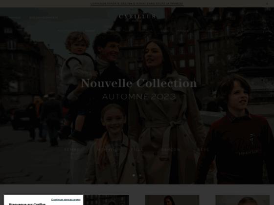 Cyrillus, mode chic pour femme, homme et enfant