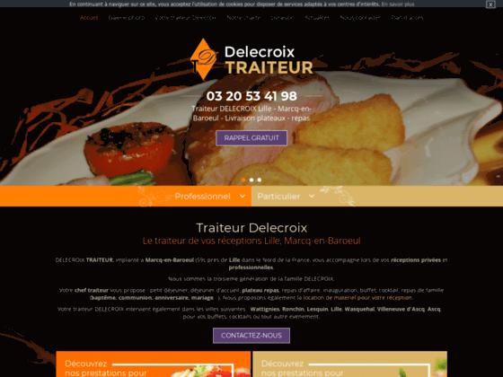 Traiteur Lille (Nord), Delecroix : traiteur Tourcoing (59), traiteur Roubaix