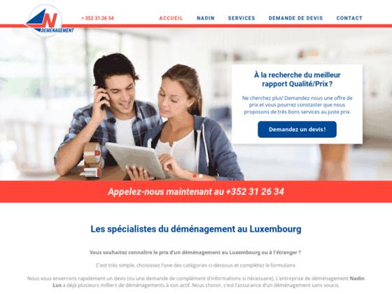 Déménagement Nadin Luxembourg - Transport de marchandises et logistique