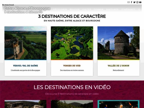 Randonnée et hébergement en Haute-Saône