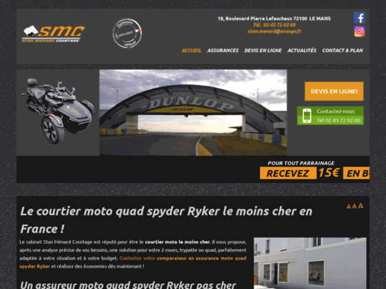 Devis assurance moto Sarthe