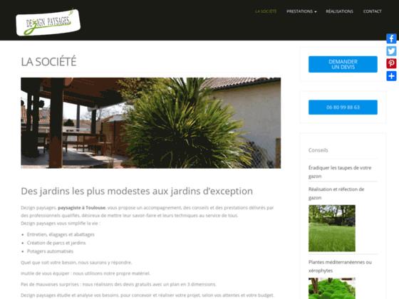 Création jardin Toulouse