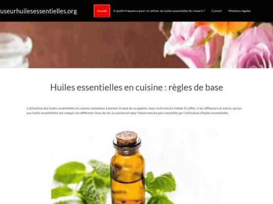 Guide des diffuseurs d'huiles essentielles