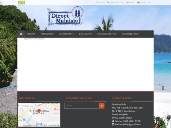 Séjours et services en Malaisie sur mesure | Direct Malaisie