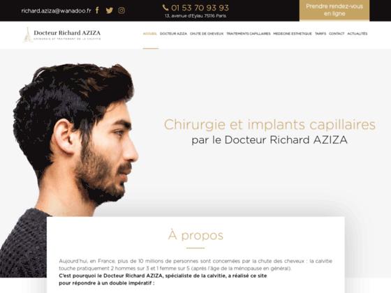 Les greffes de cheveux par le Dr Richard Aziza