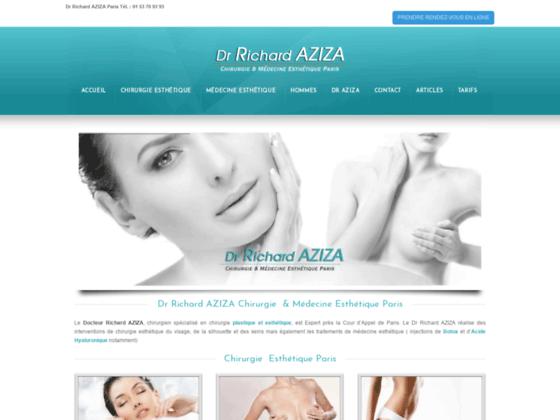 Docteur Richard AZIZA chirurgie esthétique à Paris