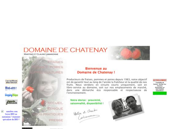 Fraises et Pommes Labaronne, au Domaine de Chatenay