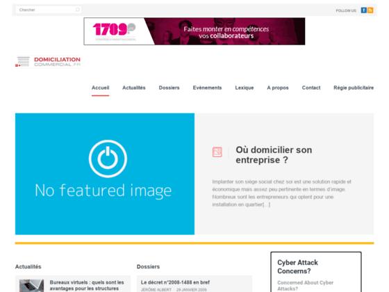 Domiciliation-Commercial.fr, portail domiciliation commerciale