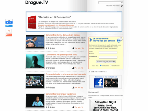 Drague.Tv : Séduction : Comment draguer les filles