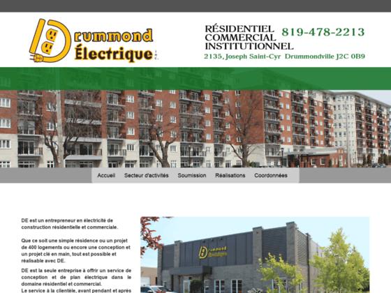 Drummond Électrique - Entrepreneur électricien Drummondville