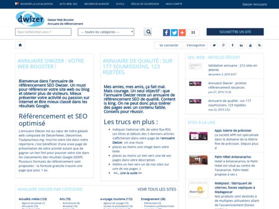 Dwizer annuaire des sites gratuit
