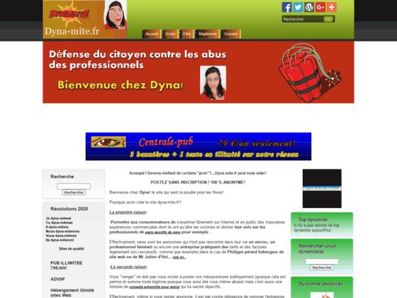 Dyna-mite.fr soyez prudent dans vos prestations