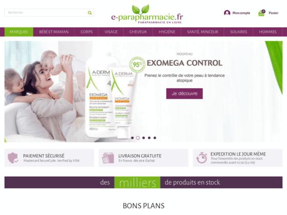 parapharmacie e-parapharmacie.fr : oenobiol, mustela, weleda