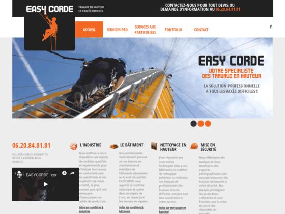 EASYCORDE : Cordistes (Lille - Nord) : spécialistes de travaux en hauteur et à accès difficiles,