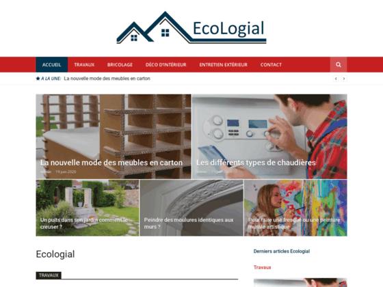 ECOLOGIAL, la maison au naturel