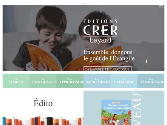 Livre catéchisme enfants - Editions CRER