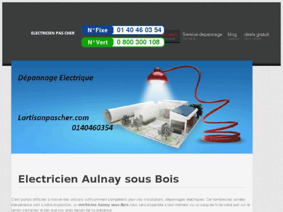 Electricien Aulnay sous Bois