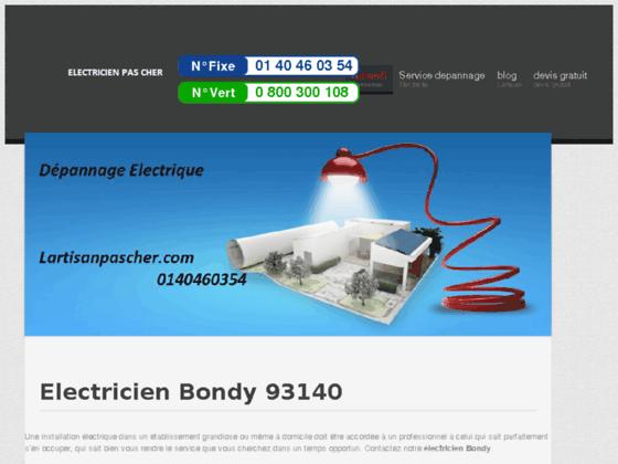 Electricien Bondy