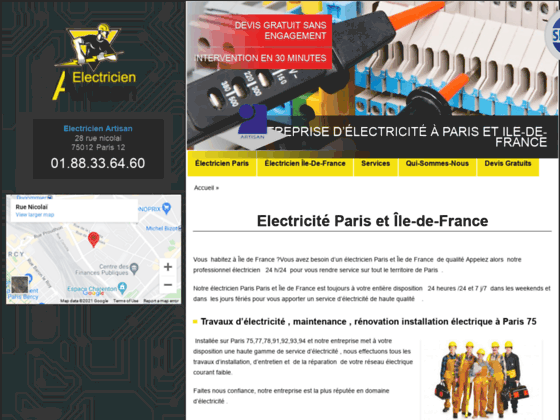 Electricien Paris - Electricien 75